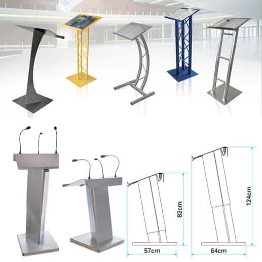 Exhibition Booth Accessories : Trade show booth accessories to accessorize your exhibit